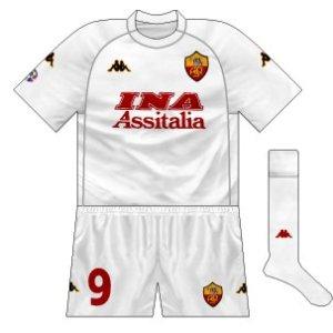 2000-01 Roma away