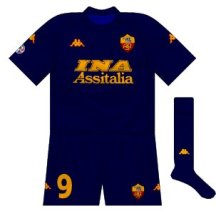 2000-01 Roma third
