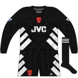 1993-94 Arsenal goalkeeper