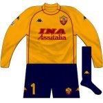 2000-01 Roma goalkeeper (Antonioli, generally)