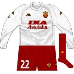 200-01 Roma goalkeeper kit (Lupatelli)