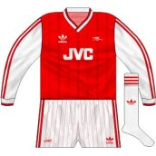 Home kit with alternative white socks