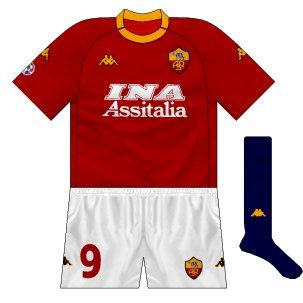 2000-01 Roma home
