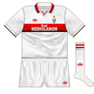 1990-91 AC Milan away