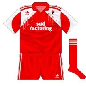 1990-91 Bari away