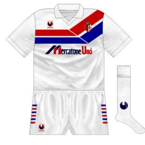 1990-91 Bologna away
