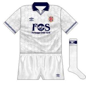 1990-91 Cagliari away
