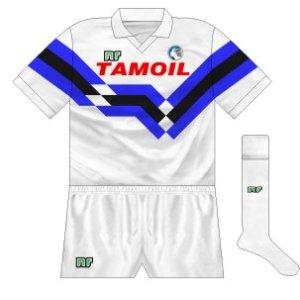 1990-91 Atalanta away