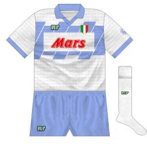 1990-91 Napoli away