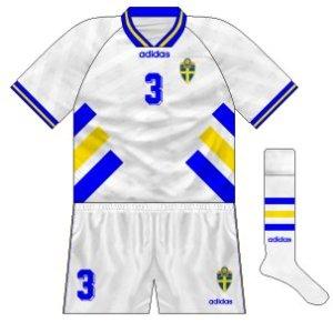1994-96 Sweden away