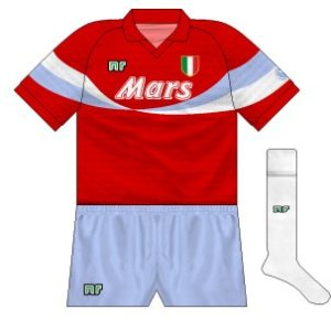 1990-91 Napoli third (blue shorts, white socks)