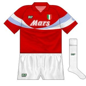 1990-91 Napoli third (white socks)