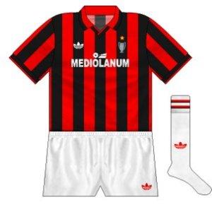 1990-91 AC Milan home