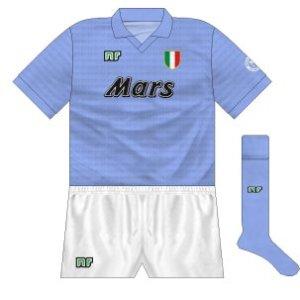 1990-91 Napoli home