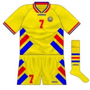 1994-96 Romania home