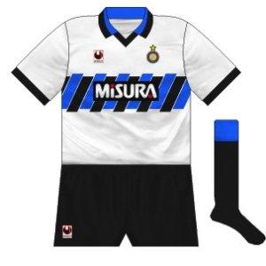 1990-91 Internazionale away