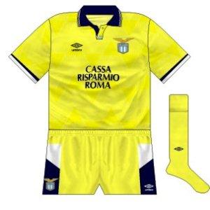 1990-91 Lazio away