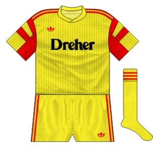 1990-91 Lecce away