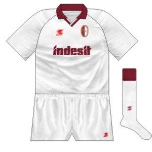 1990-91 Torino away