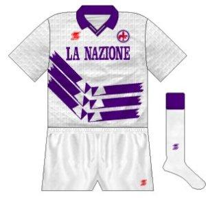 1990-91 Fiorentina away