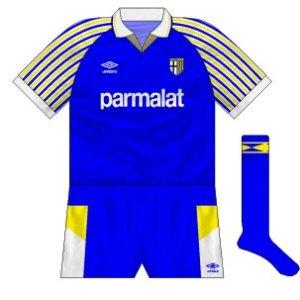 1990-91 Parma away