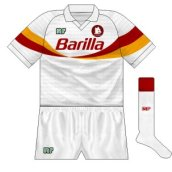 1990-91 Roma alternative away
