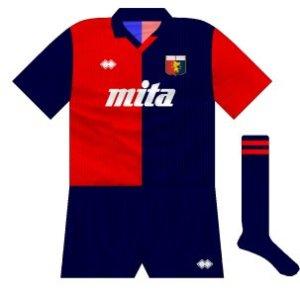 1990-91 Genoa home