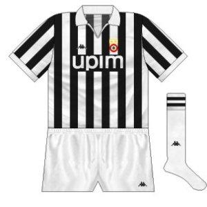 1990-91 Juventus home
