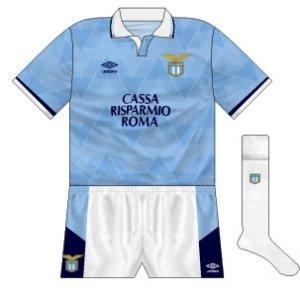 1990-91 Lazio home