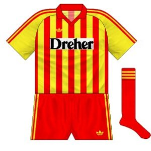 1990-91 Lecce home