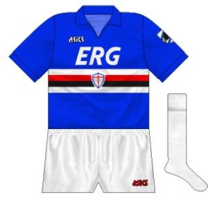 1990-91 Sampdoria home