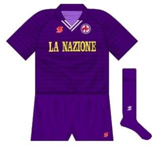 1990-91 Fiorentina home