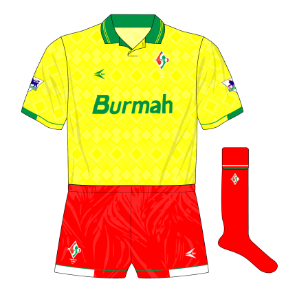 swindon-town-1993-1994-loki-away-kit-shirt-west-ham-red-shorts-socks