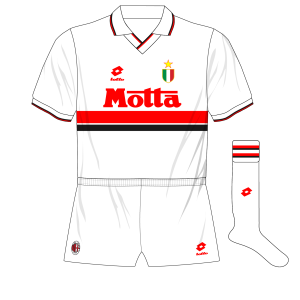 Maglia Milan 1993-1994 (Museum of Jersey)