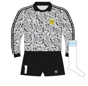 adidas-Argentina-grey-goalkeeper-camiseta-jersey-1990-Pumpido