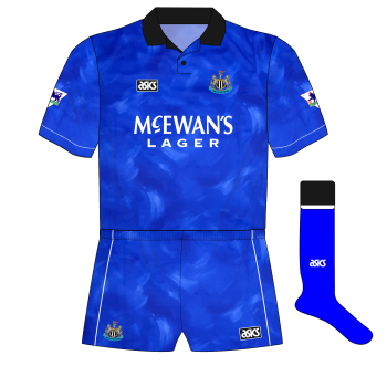 Newcastle-United-1993-1995-asics-away-kit-shirt-McEwans-Lager