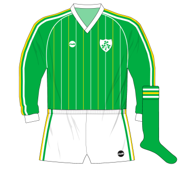 O'Neills-Republic-of-Ireland-1984-home-jersey-USSR-Lawrenson