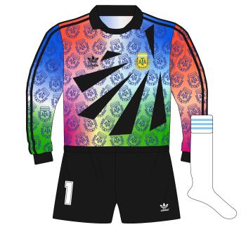 adidas-Argentina-portero-goalkeeper-camiseta-jersey-1993-Goycochea