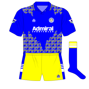 Leeds-United-1992-93-Admiral-blue-away-kit-shirt-yellow-shorts-Tottenham-Spurs-01