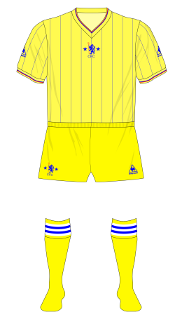 Chelsea-1981-1983-Le-Coq-Sportif-away-shirt-yellow-shorts-01