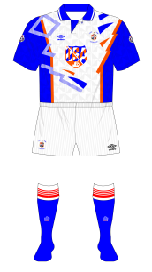 Luton-Town-1991-1992-Umbro-home-kit-white-shorts-blue-socks-Southampton-01