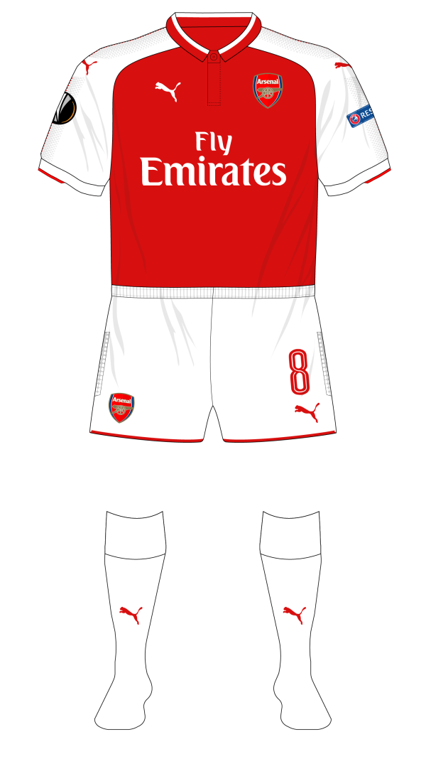 Arsenal-2017-2018-Puma-home-kit-white-socks-Europa-CSKA-01.png